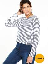 Tommy Hilfiger Stripe Long Sleeve T-Shirt