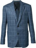 Pal Zileri woven blazer - men - Silk/Linen/Flax/Rayon/Wool - 46
