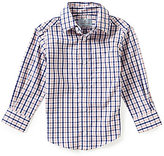 Class Club Little Boys 2T-7 Mini Checked Sportshirt