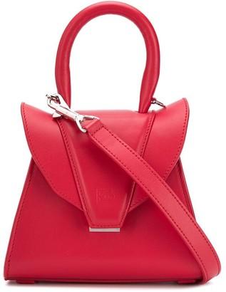Elena Ghisellini Fold-Over Shoulder Bag