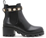 Gucci Gemstone Chelsea boots