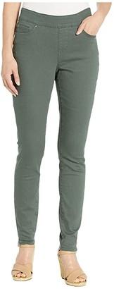 Jag Jeans Maya Skinny Pull-On Jeans in Elite Colored Denim (Juniper) Women's Jeans