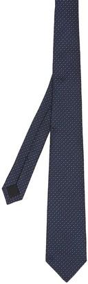 Burberry Classic Cut Monogram Motif Silk Tie