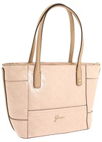 GUESS Reiko Small Carryall (Nude) - Bags and Luggage