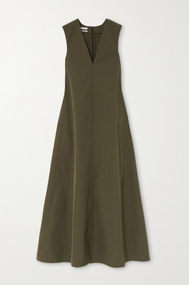 Co Woven Maxi Dress - Green