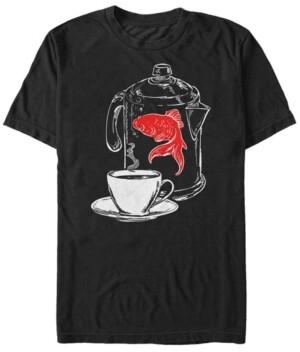 Twin Peaks Men's Fish In The Percolator Short Sleeve T-Shirt
