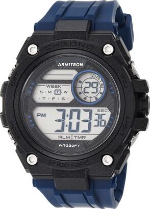 Armitron Sport Men's Quartz Sport Watch with Resin Strap