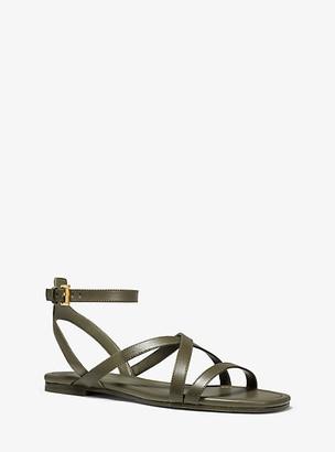 Michael Kors Tasha Leather Sandal
