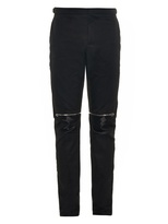 Balenciaga Zip-detail Cotton Biker Trousers