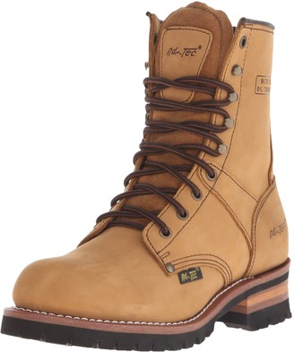AdTec Ad Tec Super Logger Boots (Brown Numeric_6_Point_5)