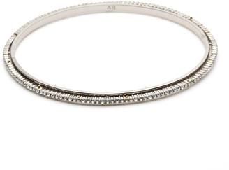 Alexis Bittar Crystal Encrusted Spiked Bangle