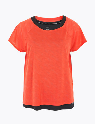 Marks and Spencer Double Layer Burnout Top