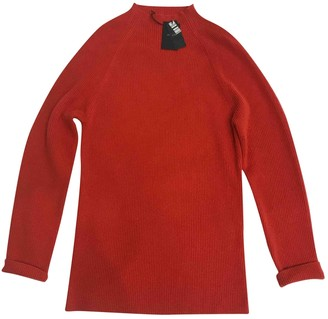 Joseph Orange Cashmere Knitwear