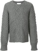 Yoshio Kubo oversized chunky knit jumper
