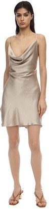 Bec & Bridge Pearl Bay Satin Mini Dress