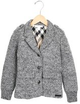Burberry Boys' Wool Fitted Coat