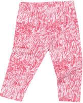 Noé & Zoë Berlin Printed Cotton Leggings - Pink, Size 18-24m