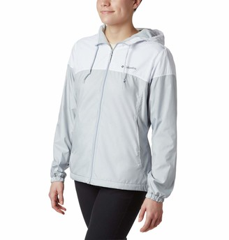 Columbia Women's Plus Size Flash Forward Lined Windbreaker
