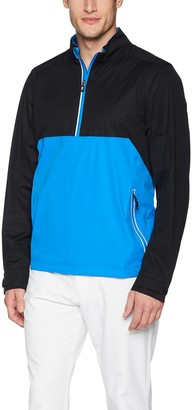 Cutter & Buck Men's Weathertec Waterproof Lightweight Fairway Half Zip Pullover