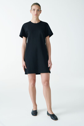Cos Short-Sleeved Jersey Dress