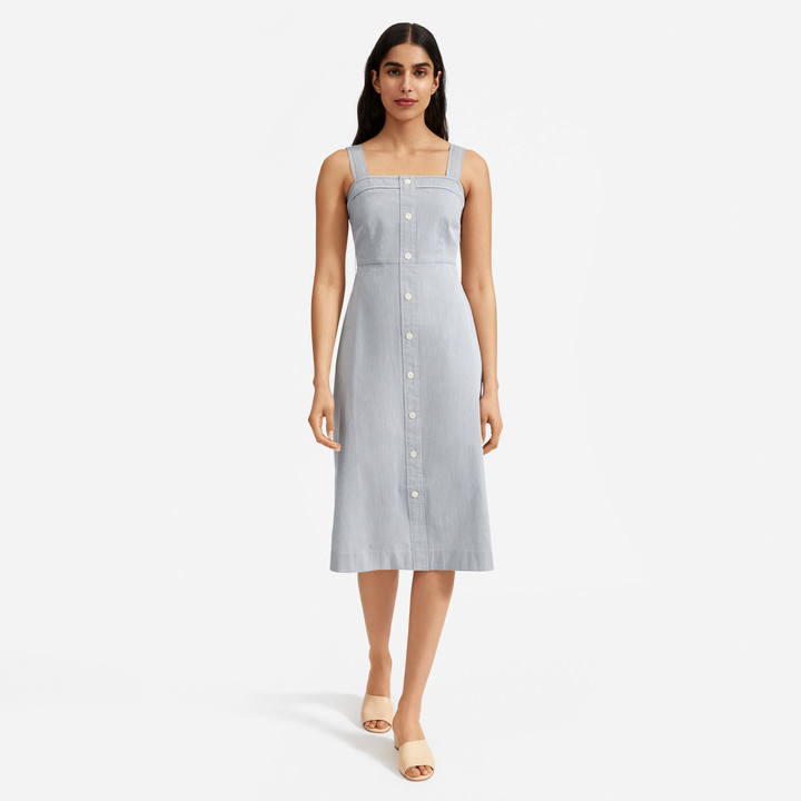 Thumbnail for your product : Everlane The Cotton Weave Tank Dress