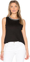 Generation Love Lucia Crystal Tank in Black. - size S (also in )
