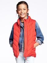 Old Navy Fitted Frost-Free Vest for Girls