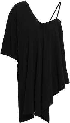 Maison Margiela Asymmetric Stretch-crepe Top