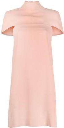 Victoria Victoria Beckham Cape-Detail Mini Dress