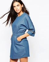 Goldie Cast Away Denim Dress
