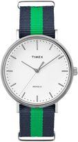 Timex Unisex Weekender Fairfield Striped Watch