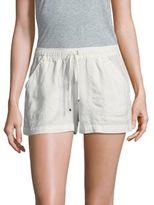 Max Studio Drawstring Linen Shorts