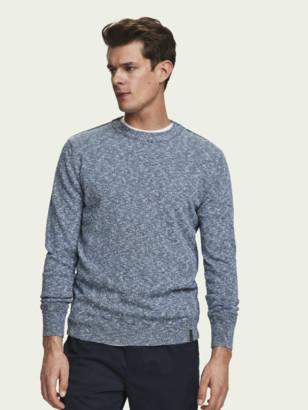Scotch & Soda Slub Crew Neck Sweater | Men