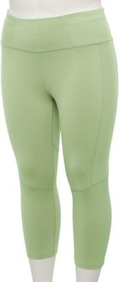 Tek Gear Plus Size High-Waisted Performance Capri Leggings