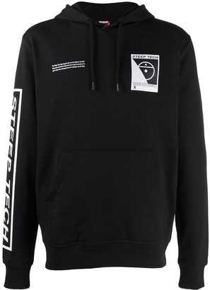 The North Face Black Graphic Print Hoodie