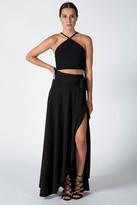Donna Mizani Wrap Skirt