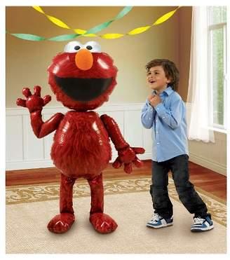 """BuySeasons Elmo AirWalker 54"""" Foil Balloon"""