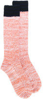 Marni ribbed socks - women - Polyamide/Virgin Wool - S