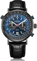 Rotary Watches Rotary Mens Black Ip Henley Watch