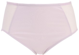 Skin Odette High Waisted Organic Cotton Brief