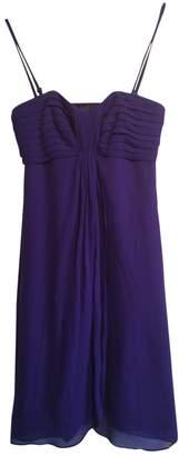 Coast Purple Silk Dress for Women