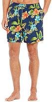 Tommy Bahama Naples Trikala Keys Tropical Floral-Print Swim Trunks