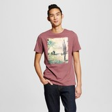 Mossimo Men's Graphic Music Fest T-Shirt Red