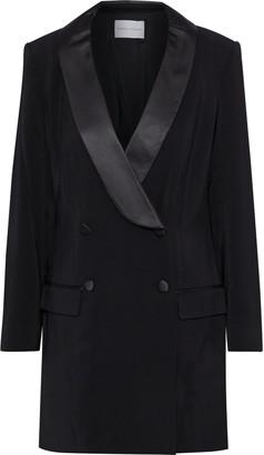 Rebecca Minkoff Archie Double-breasted Cady Mini Tuxedo Dress