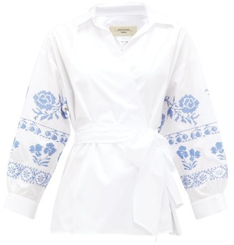 Max Mara Grado Shirt - Womens - White Multi