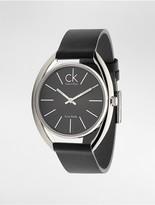 Calvin Klein Exchange Leather Watch