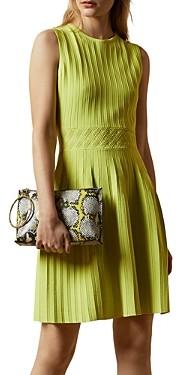 Ted Baker Balieey Pleated Mini Dress
