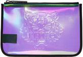 Kenzo Multicolor Iridescent PVC Pouch