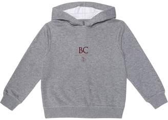Brunello Cucinelli Kids Logo stretch-cotton hoodie