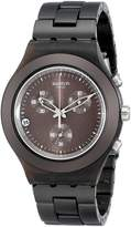 Swatch S Men's SVCC4000AG Plastic Analog with Dial Watch